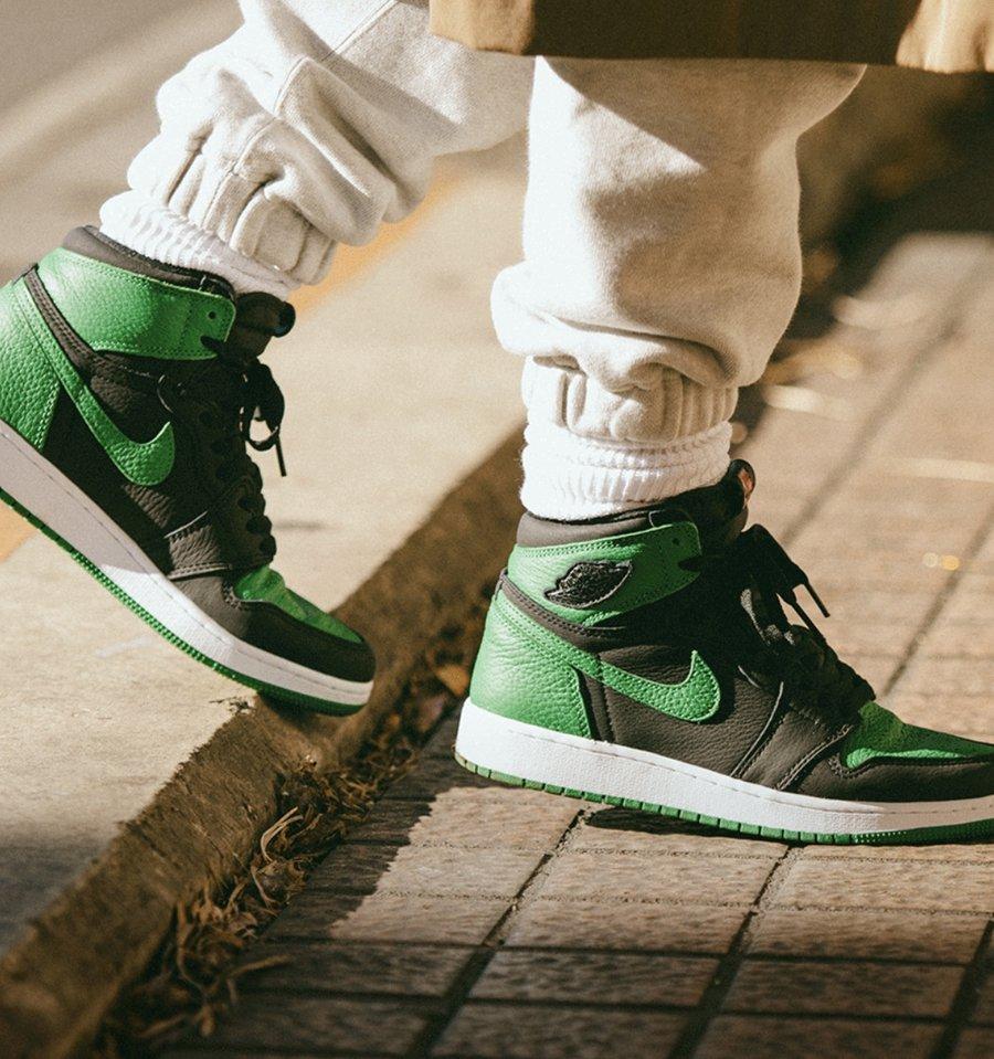 AJ1,Air Jordan 1,555088-030,57 本月第二双重磅 AJ1!人气黑绿配色下周发售!