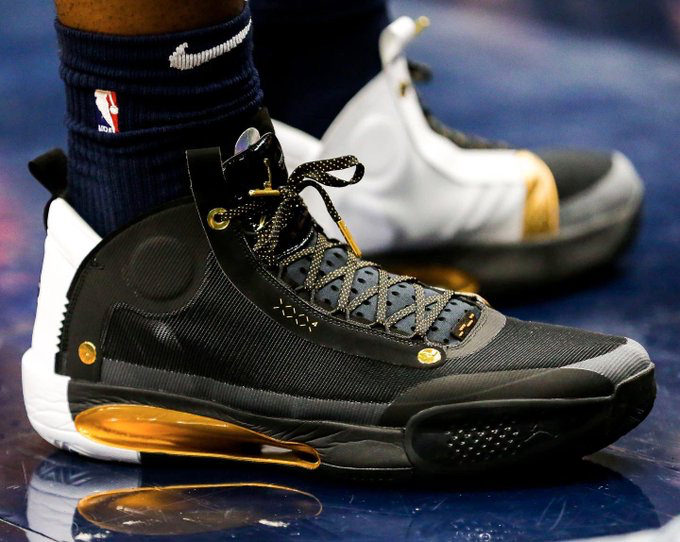 Zion,Air Jordan 34,AJ34,明星,上脚  超多 AJ34 PE 羡煞旁人!Zion 球鞋上脚回顾!款款精彩!