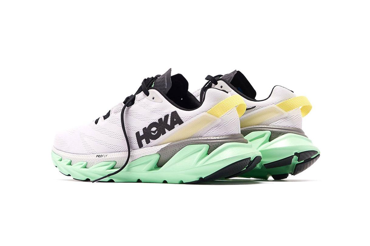 Hoka one one,Elevon 2,发售 Hoka One One 发布全新跑鞋!锋利中底造型格外抢眼!