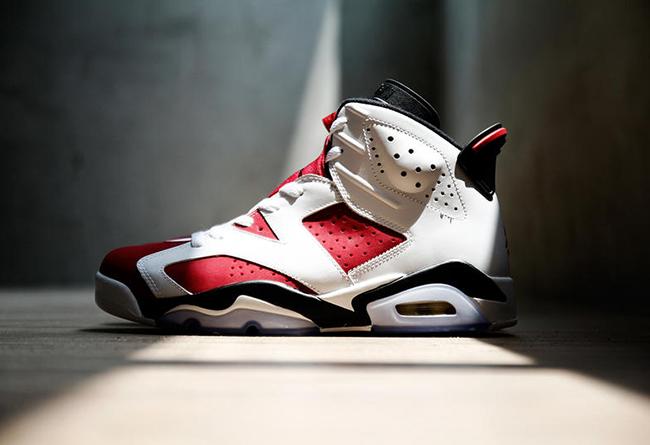 AJ,AJ6,Air Jordan 6,Carmine 胭脂红 Air Jordan 6 终于要复刻了!上次发售已是 6 年前