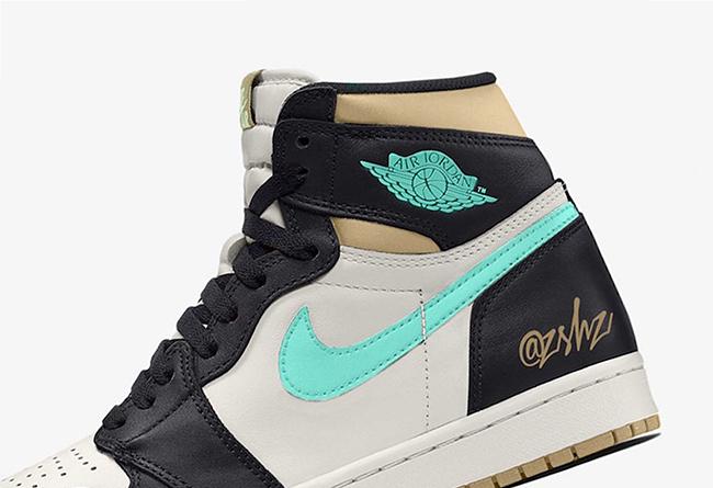 """Air Jordan 1 High OG """"Fresh Mint"""" 货号:555088-033"""