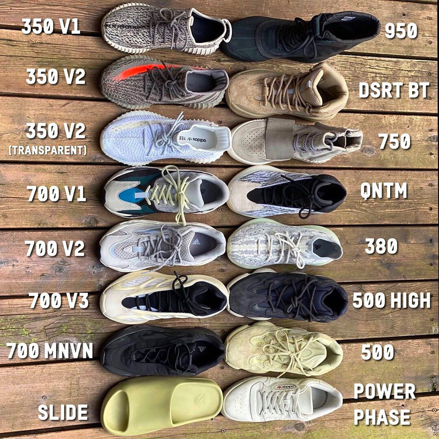所有,adidas,Yeezy,鞋型,都,在这里,了,看看, 所有 adidas Yeezy 鞋型都在这里了!看看你有哪几款?
