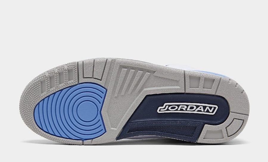AJ3,Air Jordan 3,CT8532-104,发售 北卡 Air Jordan 3 最新实物细节图释出!下月初发售!