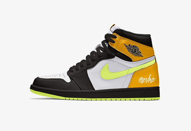 "Air Jordan 1 High OG ""University Gold"" 货号:555088-118"