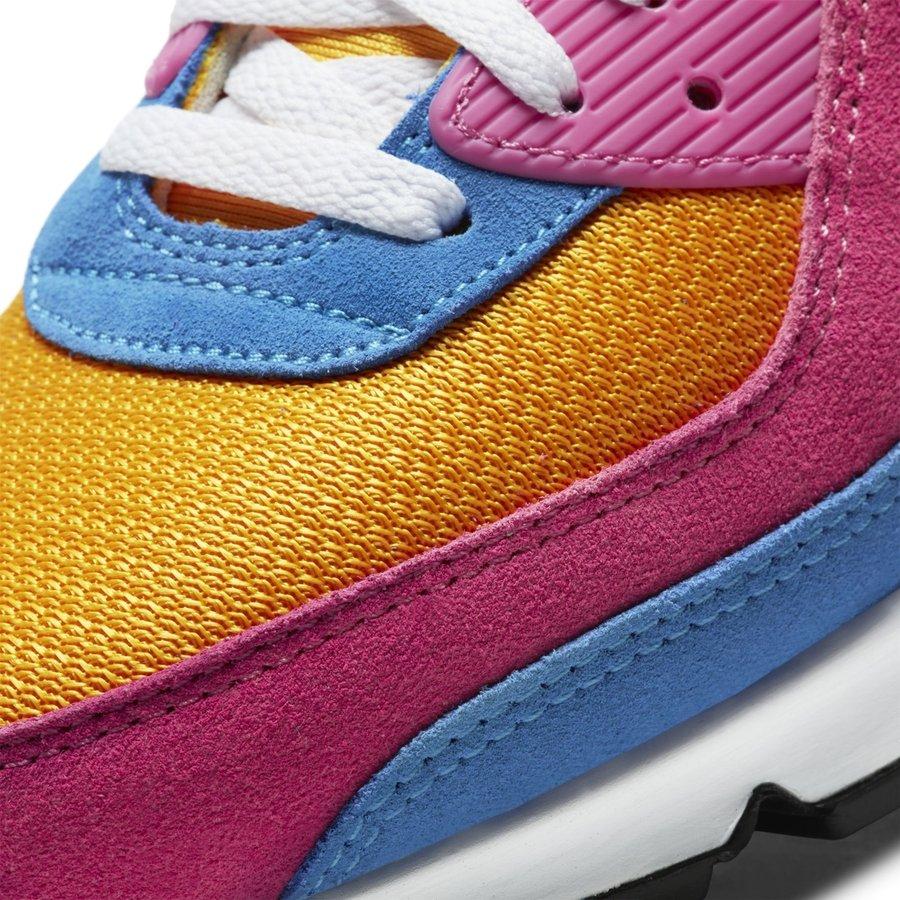 Nike,Air Max 90 超亮眼撞色设计!全新 Air Max 90 官图释出