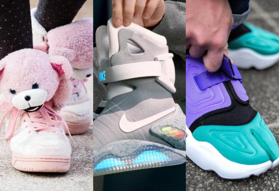 奇葩球鞋,Nike,Kobe,adidas  史上「最奇葩」的九双球鞋,天价 MAG 垫底,第一名让你笑出眼泪