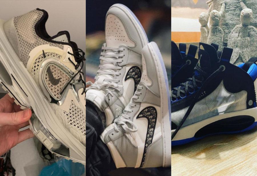 明星上脚,二月上脚,Yeezy,Dior,AJ1  近期明星上脚太猛了!未市售狠鞋多达 18 款!迪奥 AJ1 几乎人手一双!