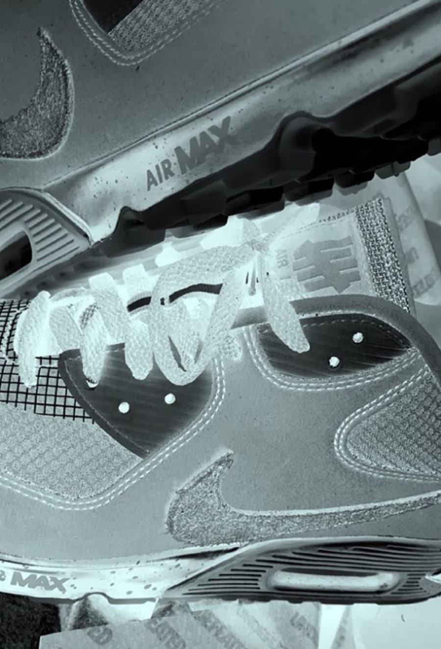 UNDEFEATED,Nike,Air Max 90  UNDEFEATED x Nike 最新联名细节曝光!传闻春季发售!