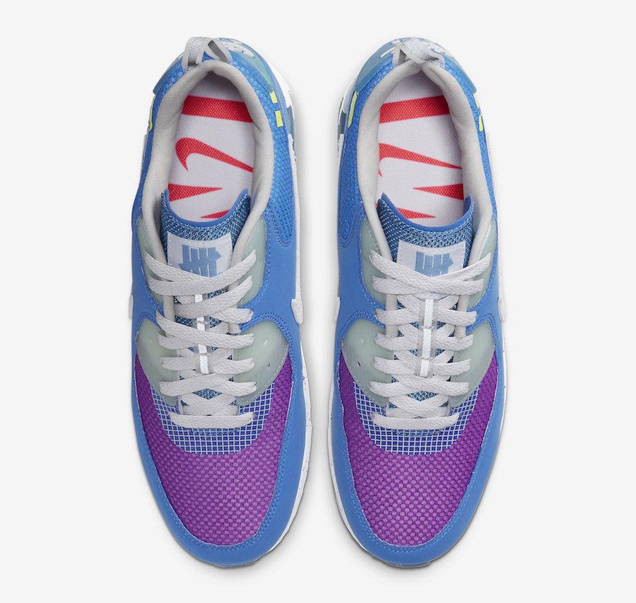 莆田鞋-白色 Undefeated x Nike Air Max 90 货英超下注平台:CQ2289-001插图(15)