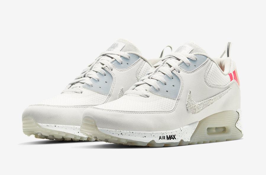莆田鞋-白色 Undefeated x Nike Air Max 90 货英超下注平台:CQ2289-001插图(1)