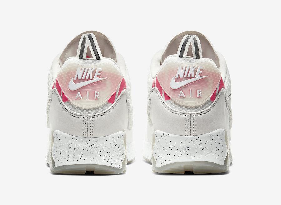莆田鞋-白色 Undefeated x Nike Air Max 90 货英超下注平台:CQ2289-001插图(5)