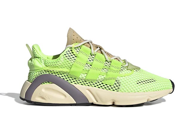 adidas,LXCON,Signal Green,EF42  个性导管设计!醒目荧光色 adidas LXCON 现已发售