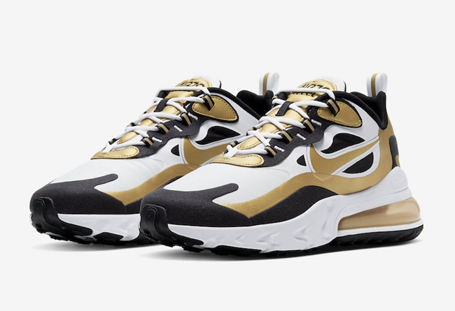 莆田鞋-Nike Air Max 270 React 货英超下注平台:CW7298-100插图
