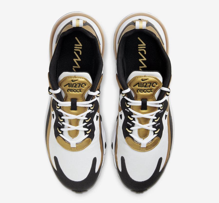 莆田鞋-Nike Air Max 270 React 货英超下注平台:CW7298-100插图(1)