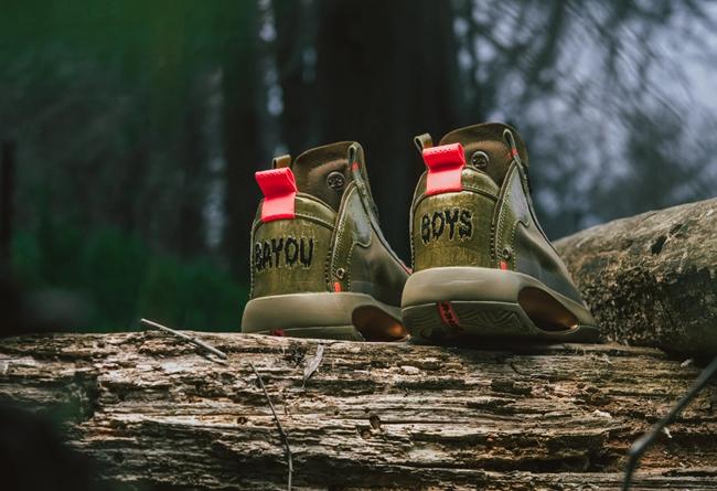 """莆田鞋-Air Jordan 34 """"Bayou Boys"""" 货号:DA1897-300"""