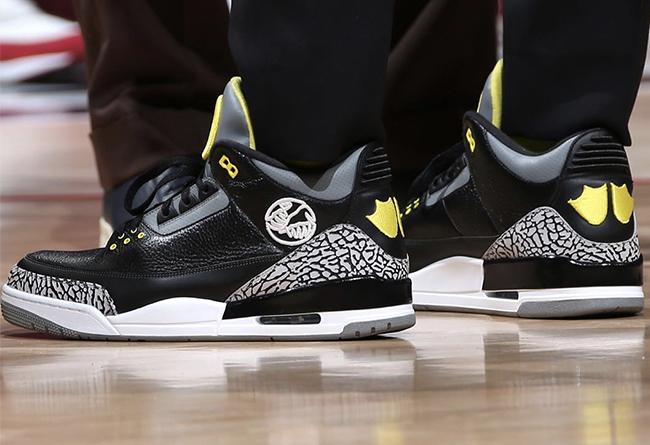 Air Jordan 3,AJ3,adidas,明星,上腳  沃爾上腳天價俄勒岡 AJ3!adidas 球鞋合同或將終止?!