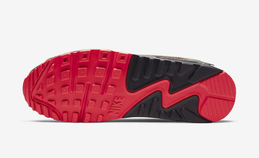 atmos,Air Max 90,Nike,发售,CW602  Air Max Day 大招来了!经典 atmos x Air Max 90 重塑回归!