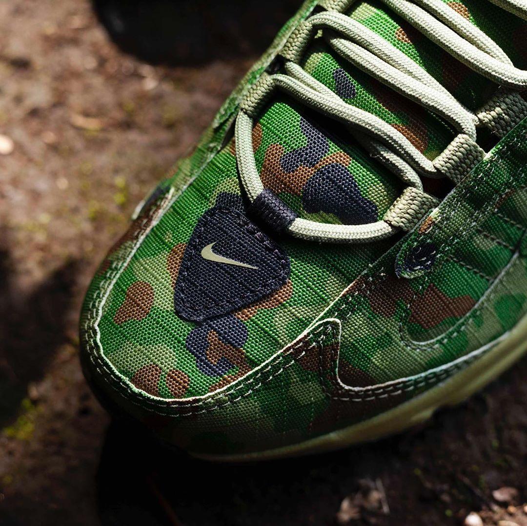Air Max Triax 96,Nike,发售  军绿迷彩 + 醒目警戒线!Air Max Triax 96 新配色上脚来了!