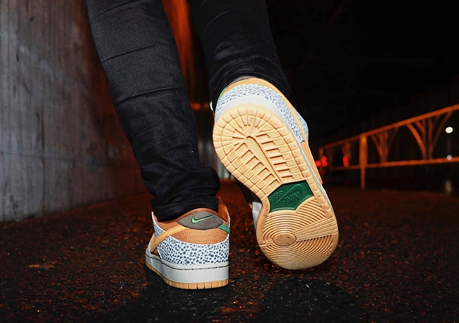 "Nike SB,JNike,Dunk Low,Safari,  吸睛度極高的經典配色!Dunk SB Low ""Safari"" 周末即將發售!"
