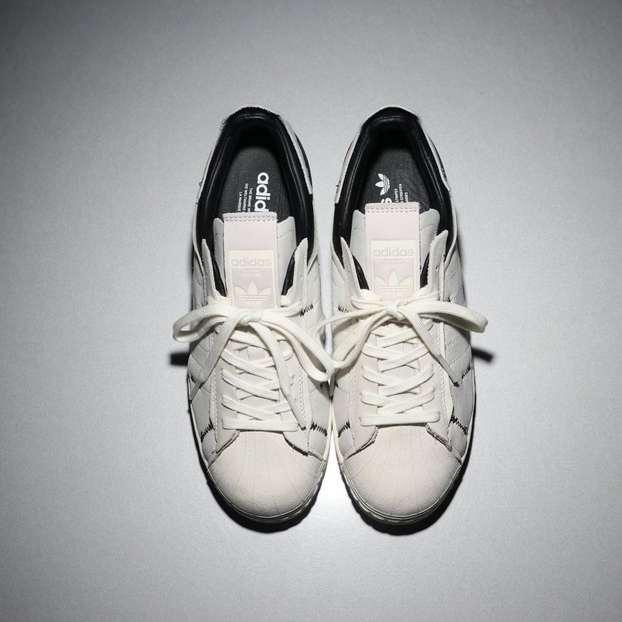adidas,Superstar,发售,FV3023,FV3  耳目一新的解构设计!这两双 adidas 贝壳头新品看点颇多!
