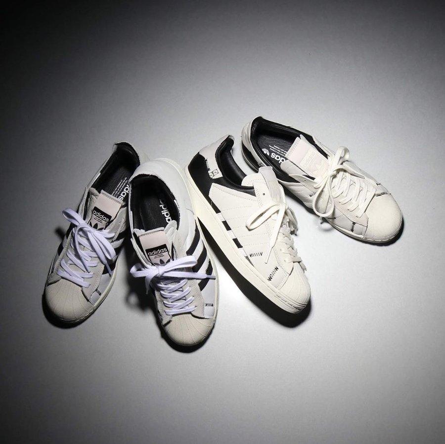 adidas,Superstar,發售,FV3023,FV3  耳目一新的解構設計!這兩雙 adidas 貝殼頭新品看點頗多!