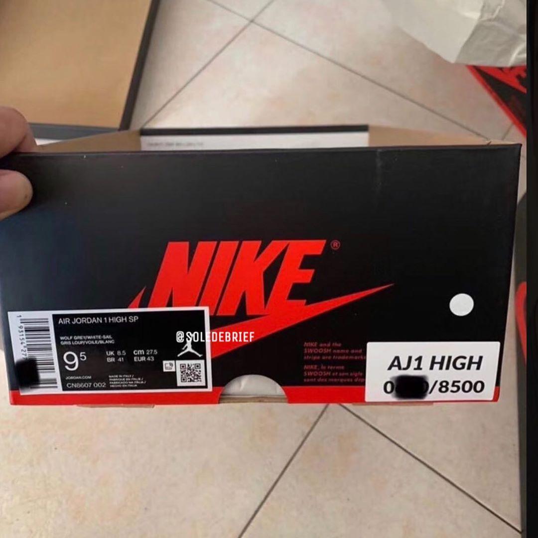 Dior,AJ1,Air Jordan 1,CN8607-0  Dior x AJ1 疑似鞋盒首次曝光!太让人失望了!