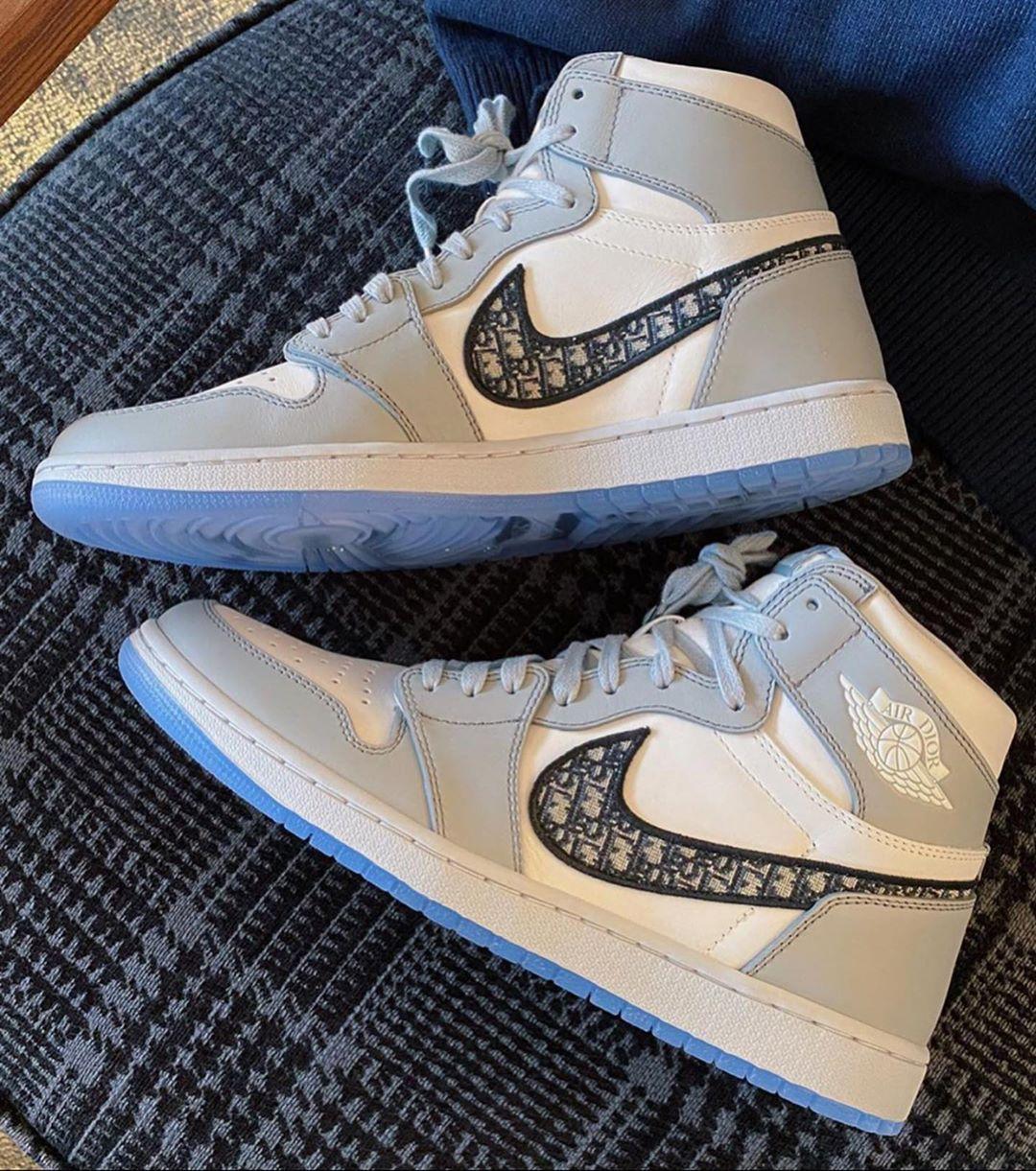 Dior,AJ1,Air Jordan 1,CN8607-0  Dior x AJ1 疑似鞋盒首次曝光!太讓人失望了!