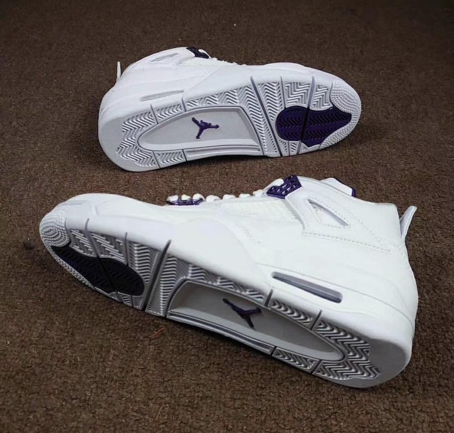 Air Jordan 4,Aj4,发售,Core Purpl  今年夏天就买它!白紫 AJ4 实物首次曝光!5 月发售
