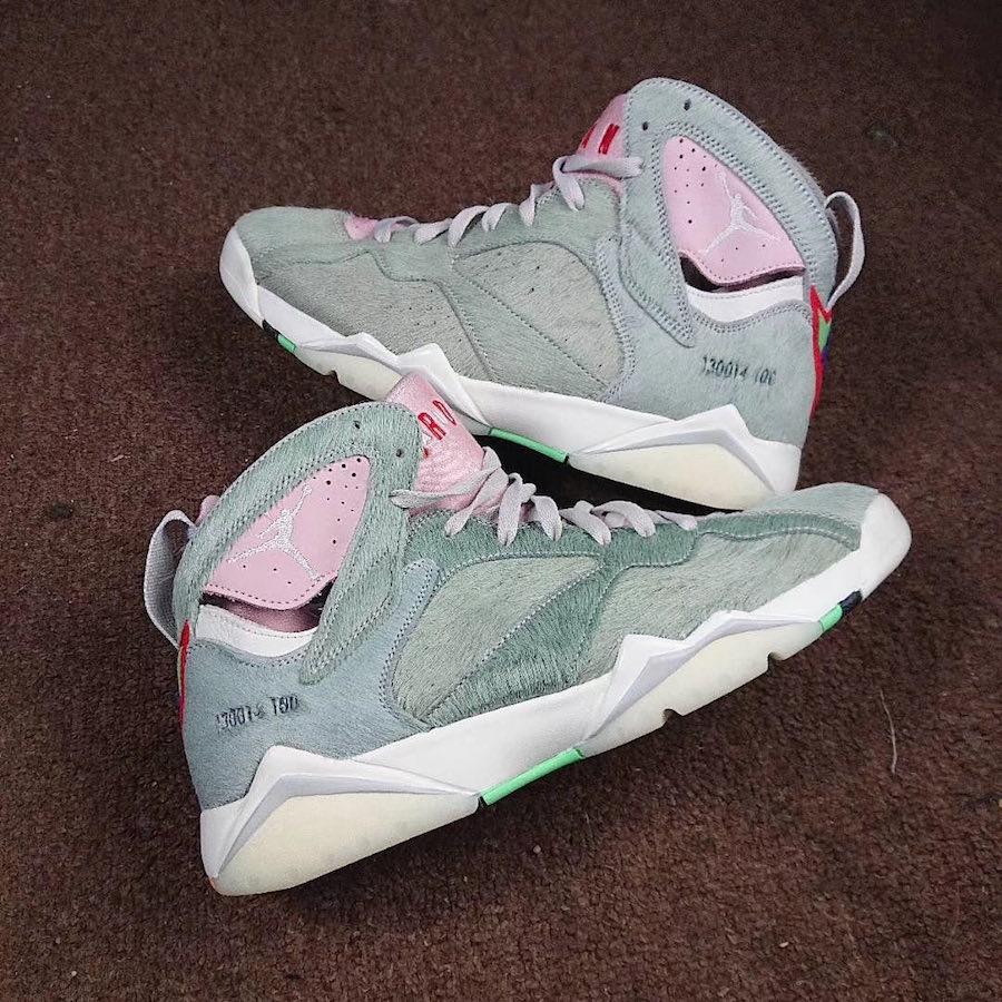 Air Jordan 7,AJ7,hare,发售  胡萝卜鞋盒 + 毛茸茸鞋身!「兔八哥 2.0」AJ7 实物抢先看!