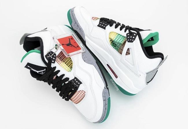 AJ,AJ4,Air Jordan 4 WMNS,Rasta  Gucci 配色 Air Jordan 4 细节曝光!设计灵感原来是...