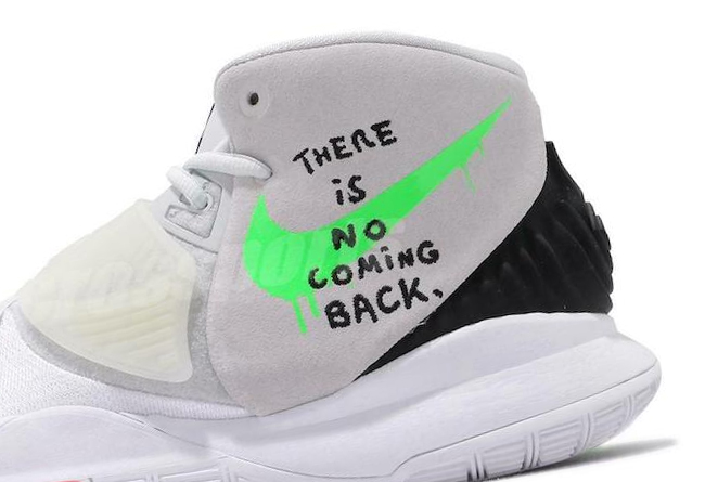 """Nike Kyrie 6 """"There Is No Coming Back"""" 货号:BQ4631-005"""