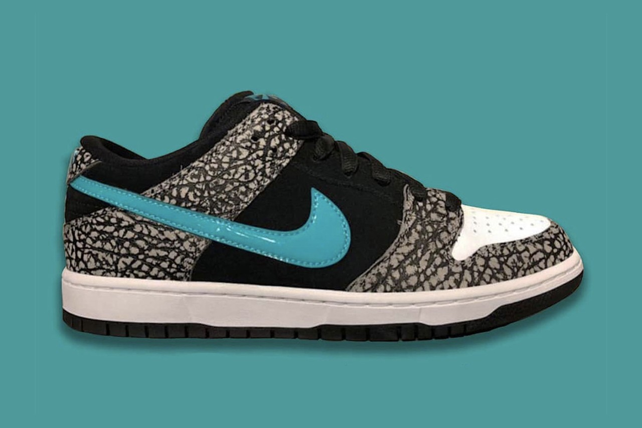 Nike,SB Dunk Low,发售  大象 SB Dunk Low 首次曝光!将于十一月发售