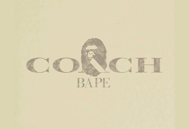 Coach,BAPE  Coach x BAPE®️ 国内发售信息来了!明天在天猫就能买!