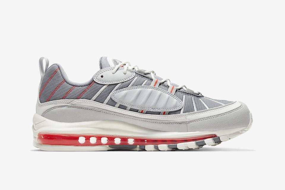 air Max 98,Nike,发售  超人气红外线配色!活力满满的 Air Max 98 新品别错过!