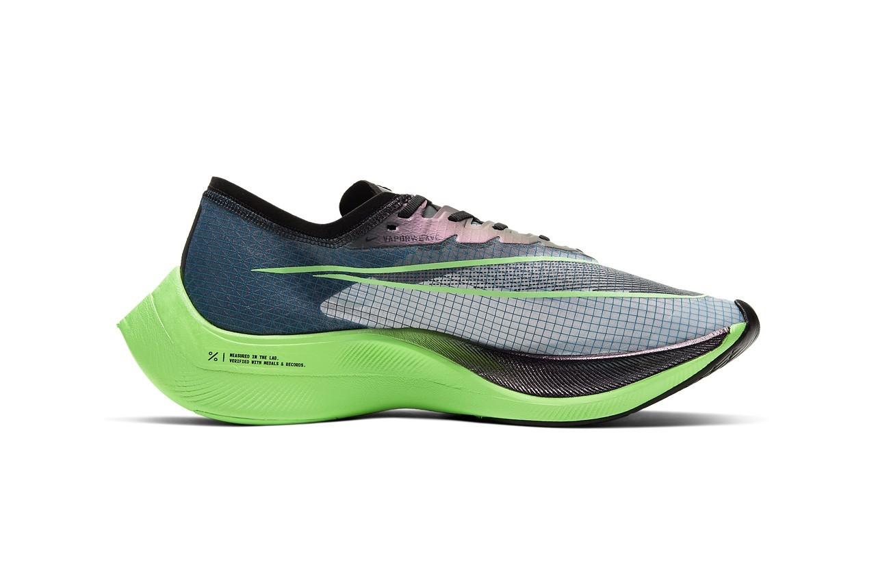 ZoomX Vaporfly Next%,Nike,发售  珠光宝气!ZoomX Vaporfly Next% 全新配色官图释出!超吸睛!
