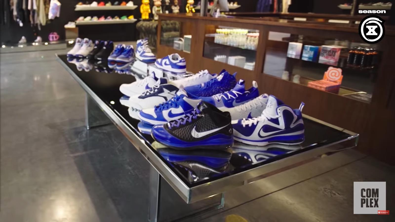 Drake,、,Khaled,都,给他,送鞋,肯塔基,专属,  Drake、DJ Khaled 都给他送鞋!肯塔基专属配色全都有!