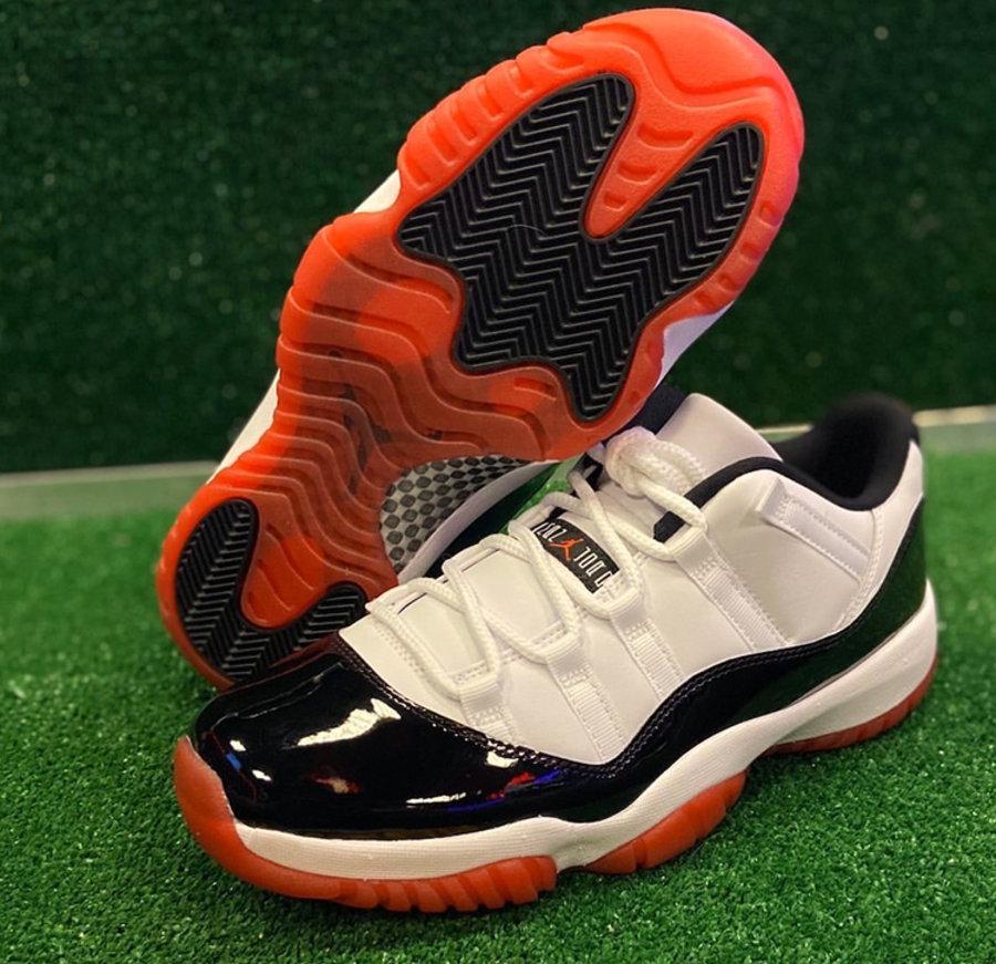 "莆田鞋-Air Jordan 11 Low ""White Bred"" 货号:AV2187-160插图(4)"