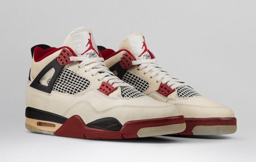 Air Jordan 4,AJ4,发售,Fire red  元年 Nike Air 后跟!传言白红 Air Jordan 4 年底复刻回归!