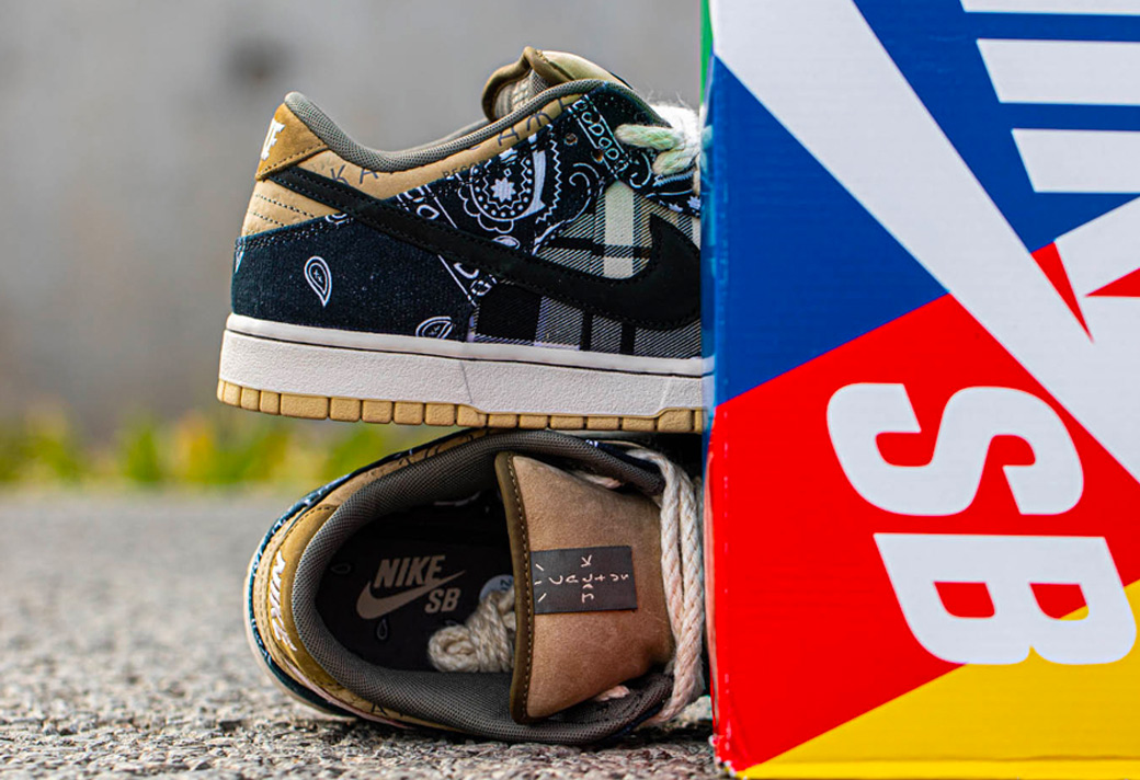 TS,Travis Scott,Dunk SB,CT5053  TS x Nike Dunk SB 什么時候發售?進一步消息和小編上腳都來了!