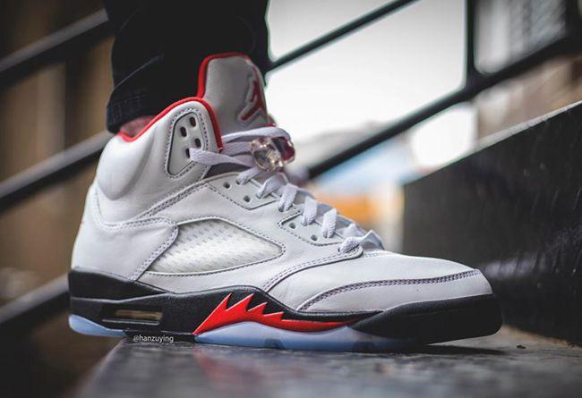 Air Jordan 5,AJ5,Fire Red,DA19  無數人的啟蒙球鞋!流川楓 AJ5 最新美圖,不愧整個朋友圈都在等
