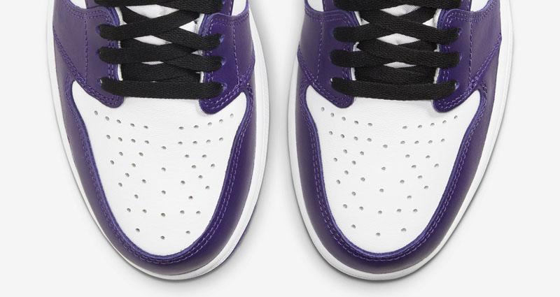 AJ1,Air Jordan 1,555088-500,发售  紫加哥 AJ1 官网预告释出!将于下周正式发售