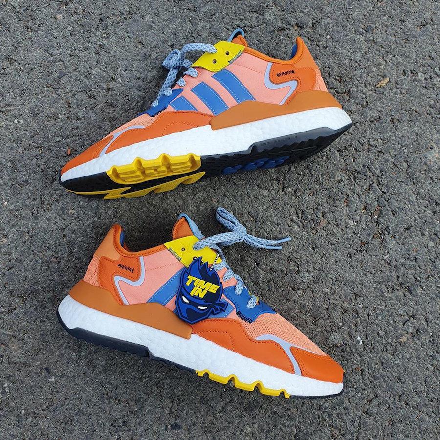 Ninja,adidas,Nite Jogger,发售  橙色爆裂鞋面!Ninja x adidas Nite Jogger 新配色今夏发售