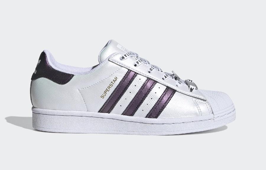 adidas,Superstar,发售  电光紫点缀!贝壳头 adidas Superstar 新配色下月发售