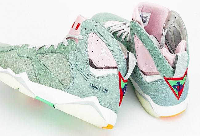 Air Jordan 7,Hare,发售  钱包准备好!超人气「兔八哥 2.0」Air Jordan 7 四月发售!