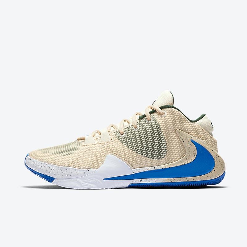 Nike,Zoom Freak 1,Light Cream,  奶油冰淇淋装扮!字母哥 Nike Zoom Freak 1 新配色官图曝光!