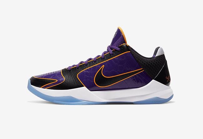 Nike,Kobe 5 Protro,CD4991-500,  湖人配色 Kobe 5 下周发售!这细节越看越喜欢!