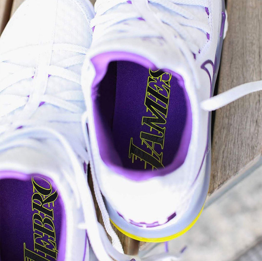 Nike,LeBron 17 Low,Lakers Home  熟悉的白紫装扮!LeBron 17 Low 迎来湖人队主场配色!