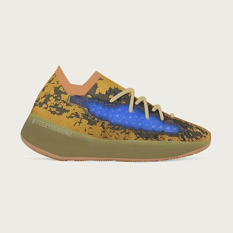 Yeezy,adidas,Yeezy Boost 380,B  卡戴珊曬 Yeezy 380 新配色!最早 5 月就能買!