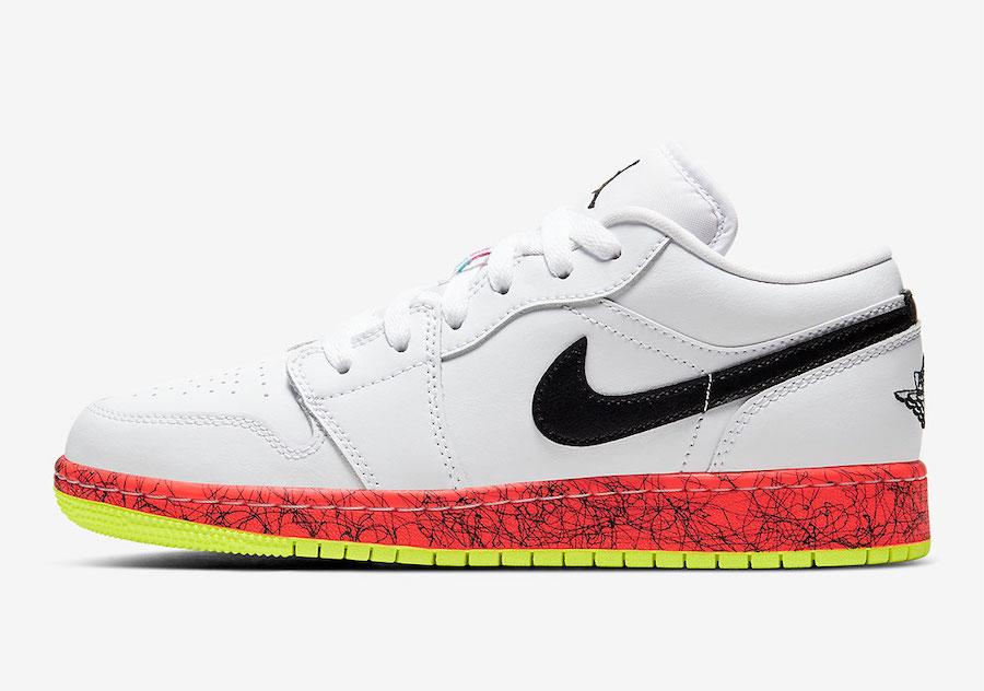 Air Jordan 1 Low,AJ1 Low,發售,CV  四色鴛鴦鞋底!這雙彩蛋 Air Jordan 1 Low 吸睛指數滿分!