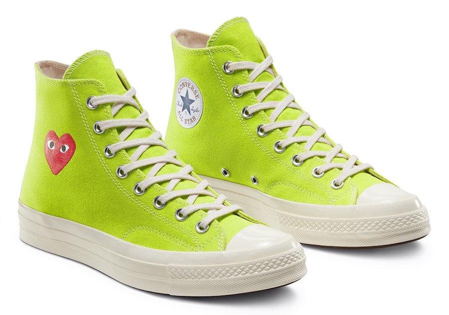 Converse,CDG PLAY,發售,Chuck 70  經典桃心風格大變!全新 CDG PLAY x Converse 明日發售